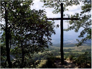 La Verna Mountain Cross